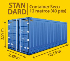 Standard Container Seco 12 metros