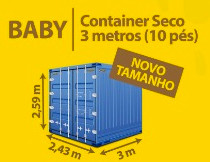 Standard Container Seco 3 metros